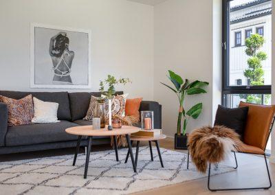 Stue detalj av bolig til salgs